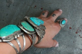 Turquoise Arm Candy
