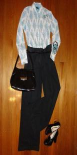 Wardrobe Essential - Tailored Black Pants and classic black shoes