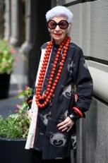 90s style - Iris Apfel