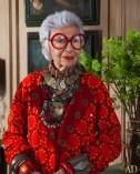 Lady in Red - Iris Apfel