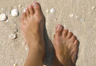 Barefoot Beach Walk