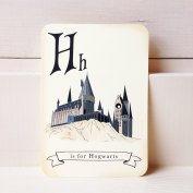 3. Harry Potter alphabet cards