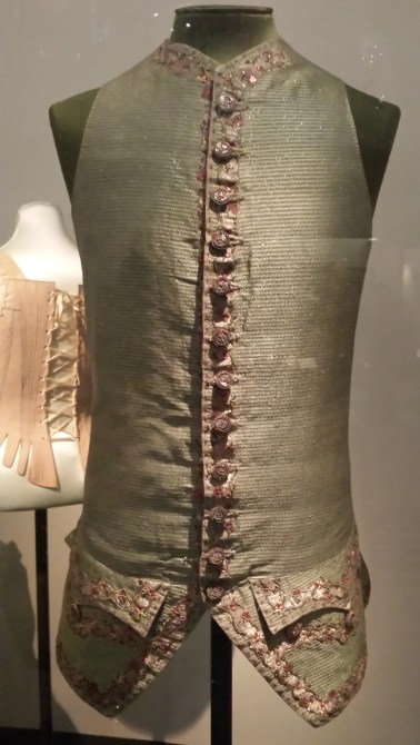 1788 English Silk Waistcoat