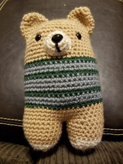 A bear that I just fell in love with because he's adorable.