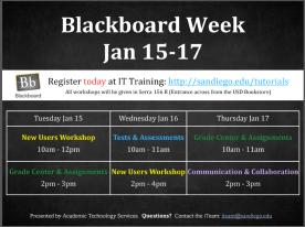 Blackboard Week