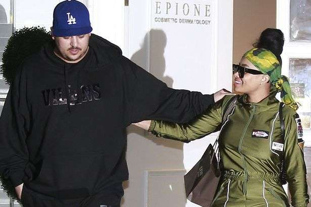 married Couple-Rob-Kardashian-and-Blac-Chyna