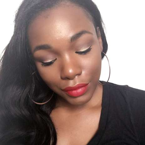 red lipstick woc kiko 2