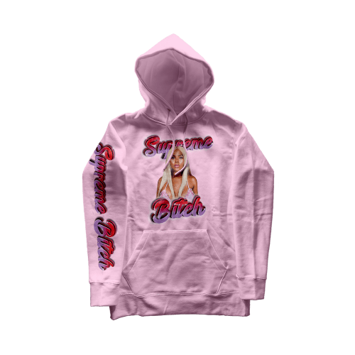 Amil Studio Supreme B*tch Hoodie Black Owned Gift Guide