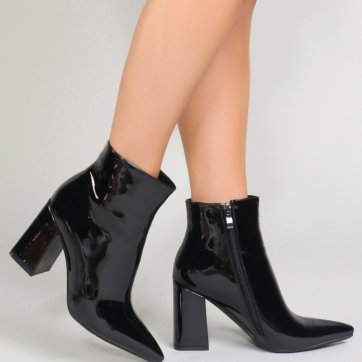 empire pointed toe boot
