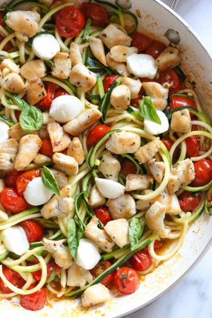 Zoodle Chicken Caprese-9