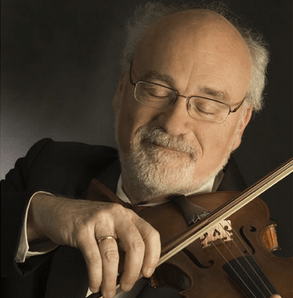 Dan Stepner on violin