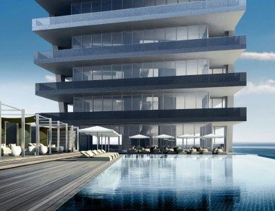 Aston Martin Condominium provides great views, from levels 15 through 45 are the Panoramic Residences, from levels 46 through 51 – Sky Residences, from levels 5 through 62 are the Penthouses and from levels 63 through 66 the Triplex Penthouses.