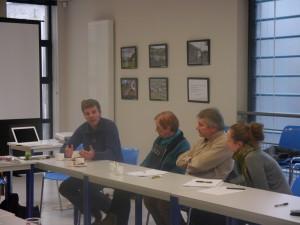 Vincent Geens présente le travail d'analyse partagée du Pôle Culturel d'Ottignies-Louvain-la-Neuve