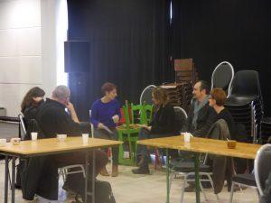 travail de réflexion en sous-groupes