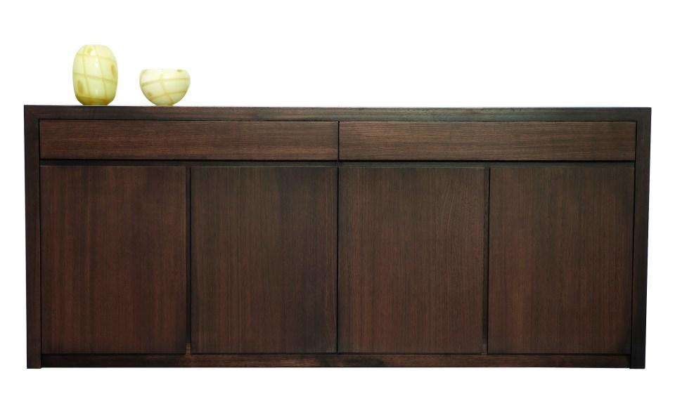Photograph of Astra Furniture Capri solid Tasmanian Oak buffet
