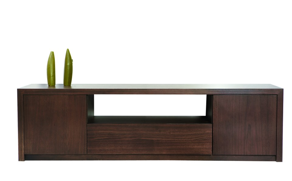 Capri low line entertainment unit