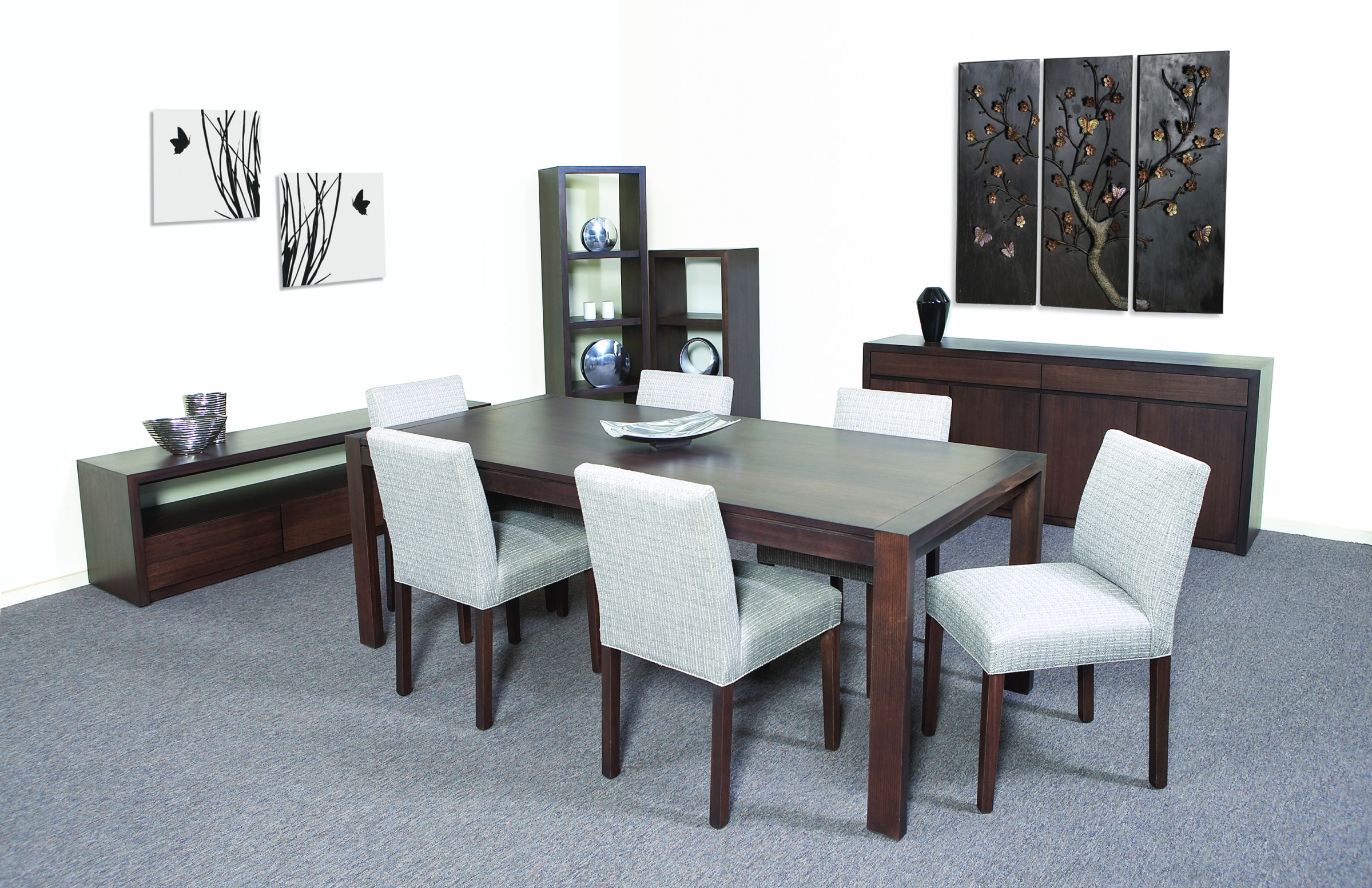 Photograph of Astra Furniture Capri dining and occasional range crafted from solid Tasmanian Oak