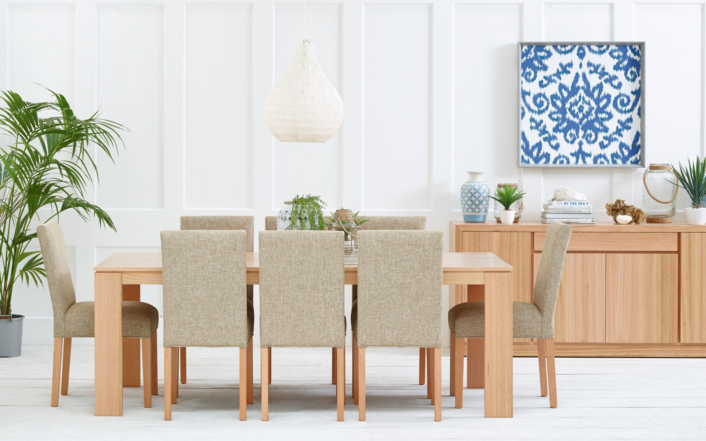 Photograph of Astra Furniture Madison dining and occasional range crafted from solid Tasmanian Oak