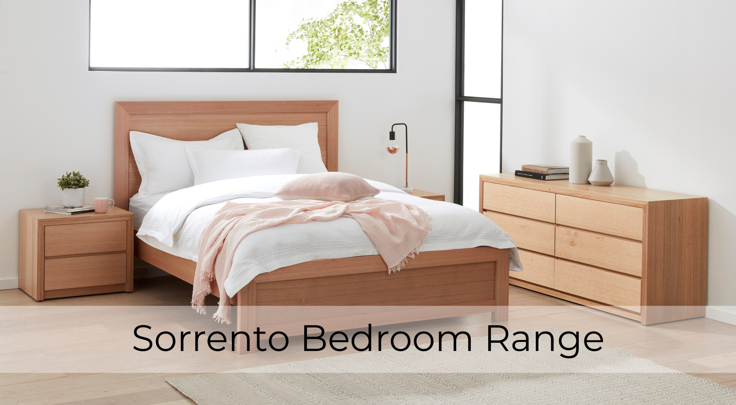 Sorrento Tasmanian Oak Bedroom Furniture by Astra Furniture