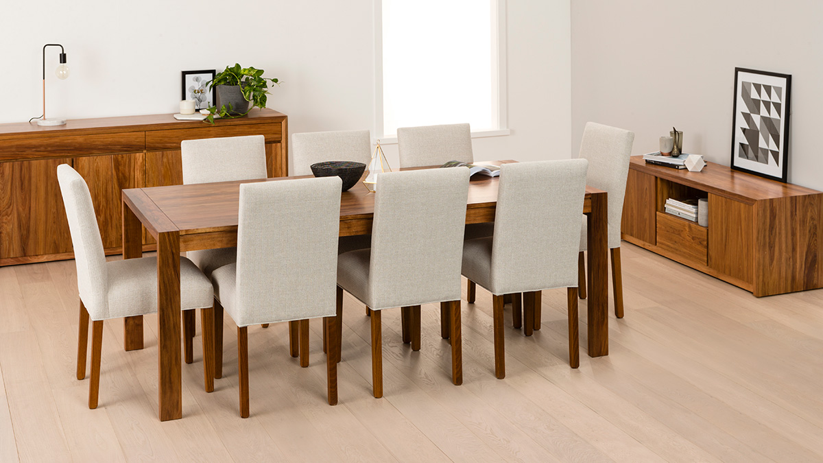 Aspley Tasmanian Blackwood Dining Room Furniture by Astra Furniture