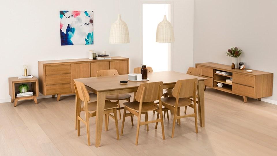 Aztec Tasmanian Oak Dining Room Furniture