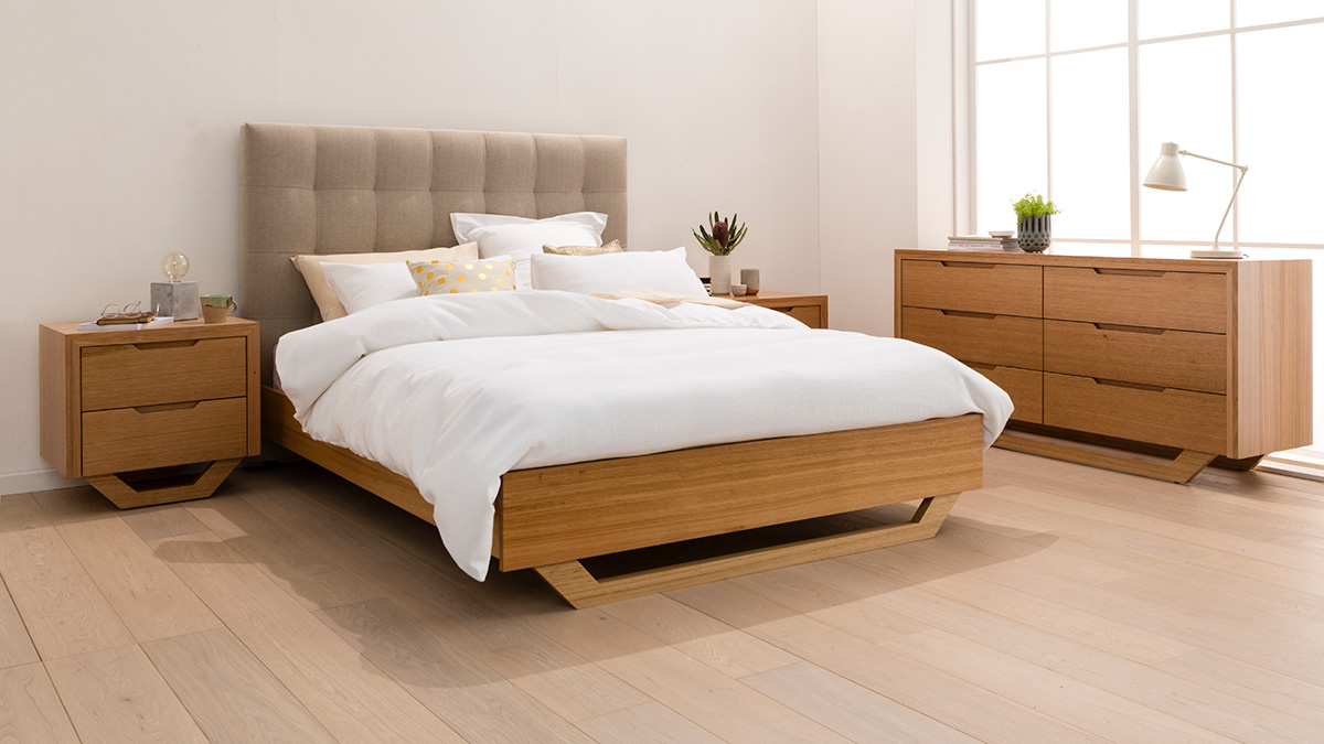 Barkley Tasmanian Oak Bedroom Furniture by Astra Furniture