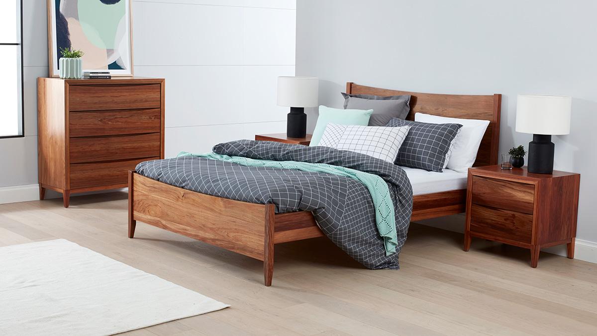 Bolton Tasmanian Blackwood Bedroom Furniture by Astra Furniture
