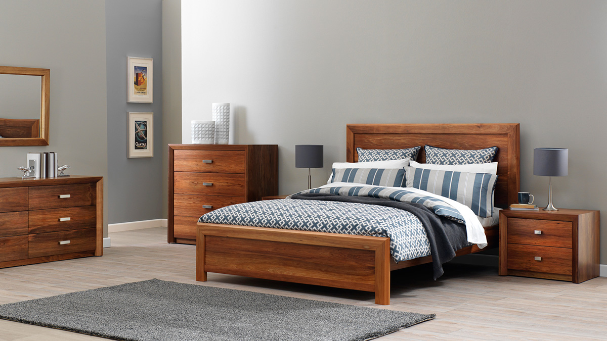 Cobar Tasmanian Blackwood Bedroom Furniture by Astra Furniture
