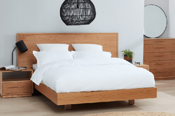 Cuba American Oak Bed Suite by Astra Furniture