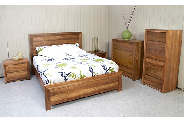 Madison Tasmanian Blackwood Bedroom Setting by Astra Furniture