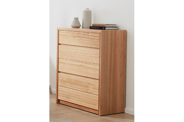 Sorrento Tasmanian Oak Tallboy by Astra Furniture