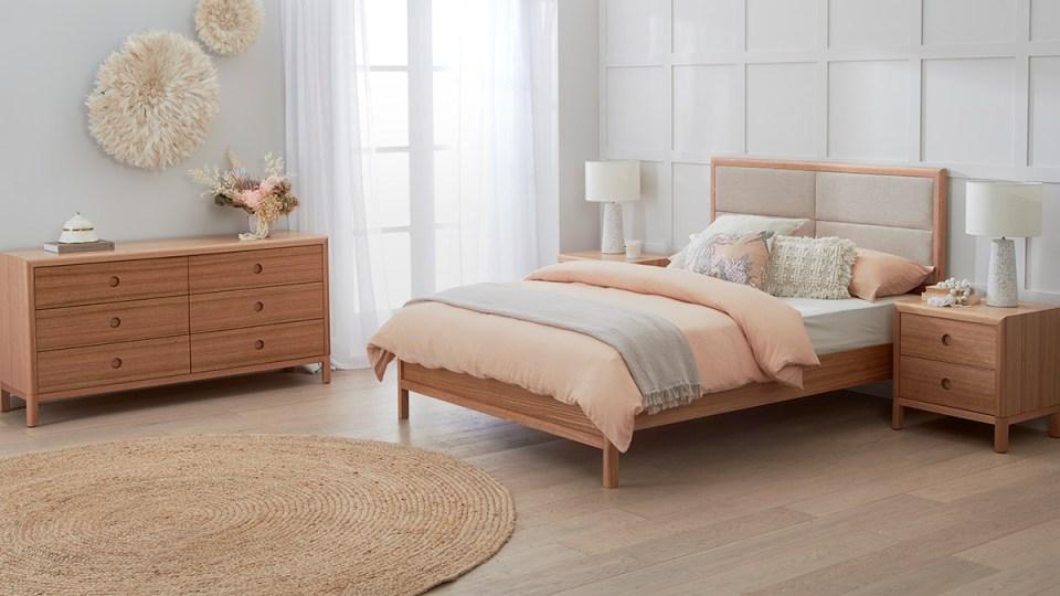 Airlie Tasmanian Oak Suite by Astra Furniture