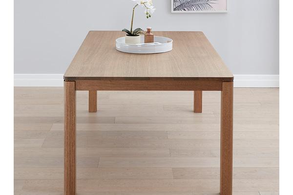 Kiama Tasmanian Oak Dining Table by Astra Furniture