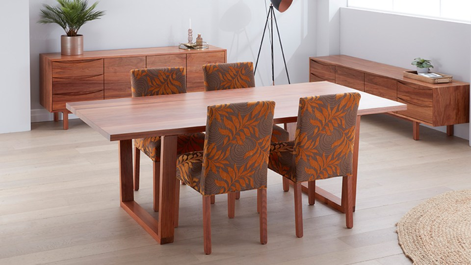 Waratah Tasmanian Blackwood Dining Table by Astra Furniture