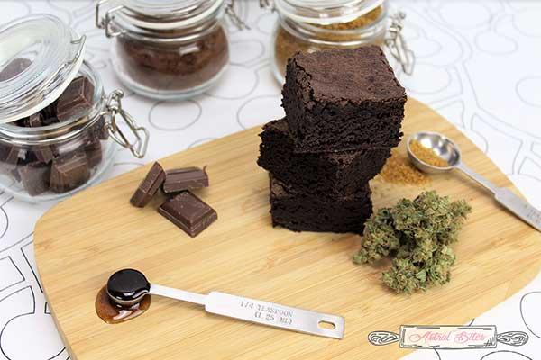 Canna Bites: Brownies.