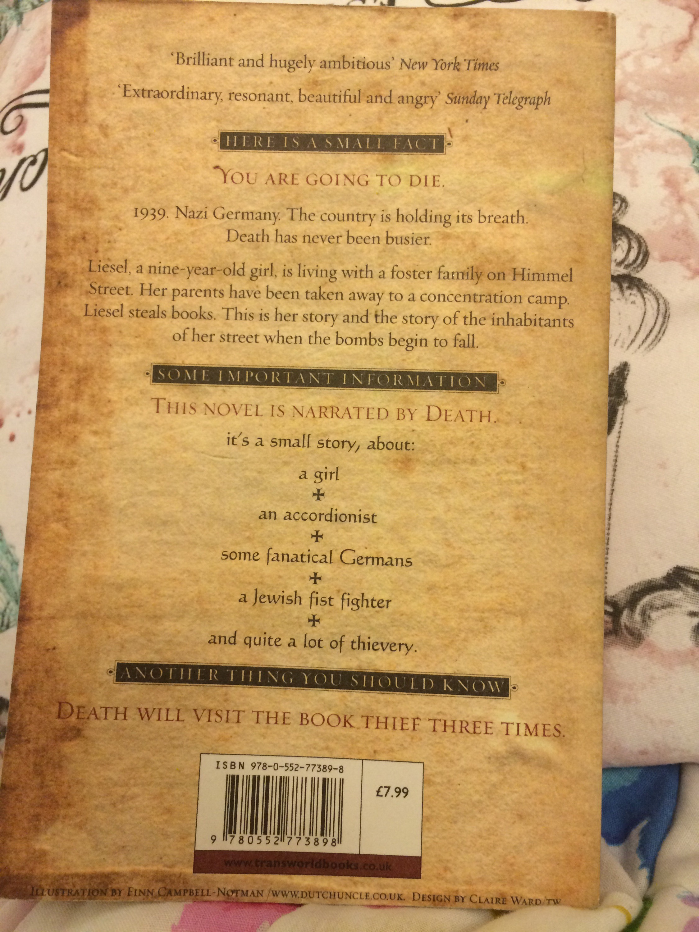 Review The Book Thief By Markus Zusak A Stranger S