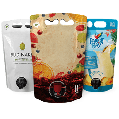 wine pouch packaging