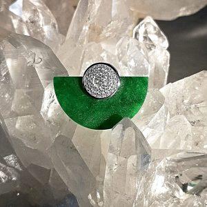 Jade Pendentif argent bijoux