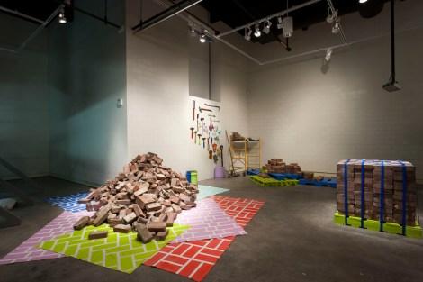 Detail from Tranformazium installation in Pittsburgh Biennial, 2011