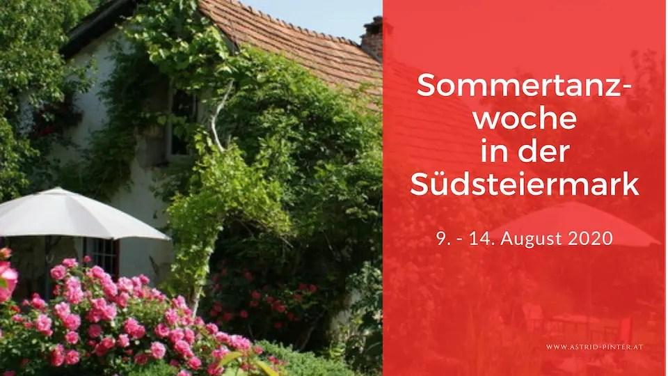 Sommertanzwoche in der Südsteiermark