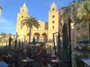Tanzreise nach Sizilien, der Dom von Cefalu