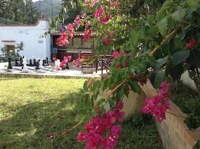 Sizilien Garten und Schach