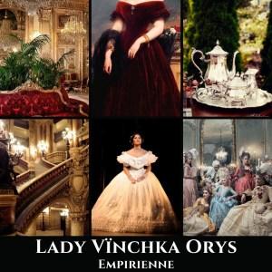 Lady Vïnchka Orys - Météorites
