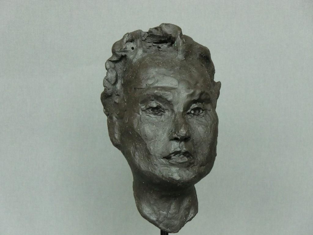 Willow, keramiek, 15 x 9 x 14 cm, 2012