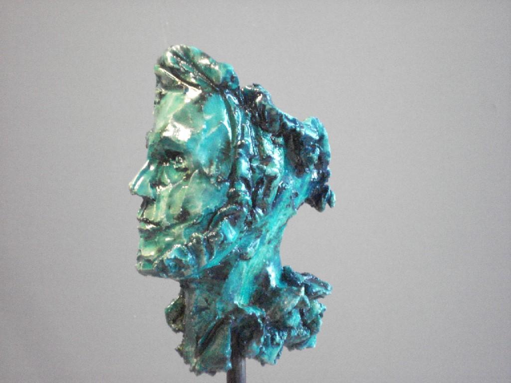 Tale-Tellers: Dagdromer, keramiek, 7 x 5 x 5 cm, 2009