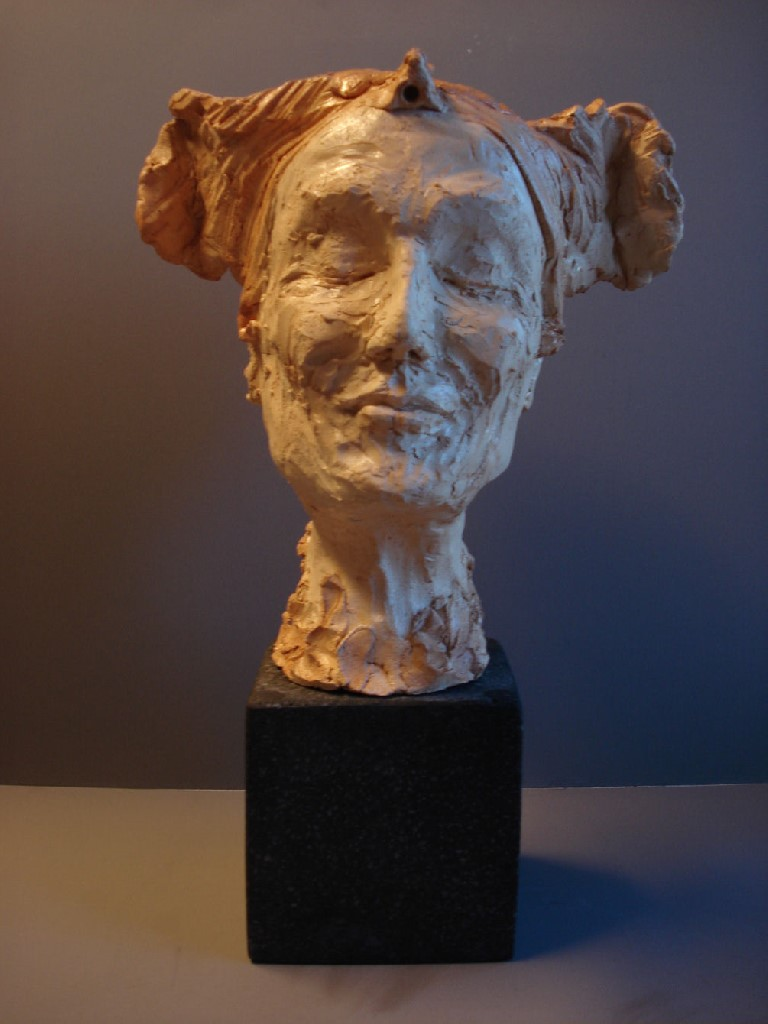 Innige, keramiek, 40 x 30 x 20 cm, 2009
