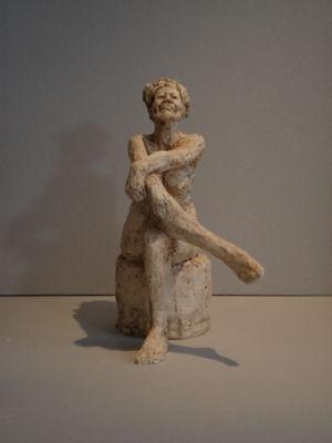 Pose, Keramiek, 35 x 15 x 20 cm, 2007