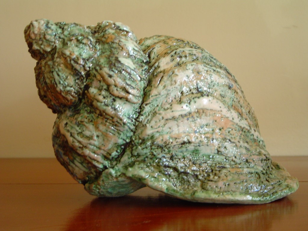 Ruis, gemengde techniek (keramiek/engobes/oxydes), 11 x 12 x 19 cm, 2006