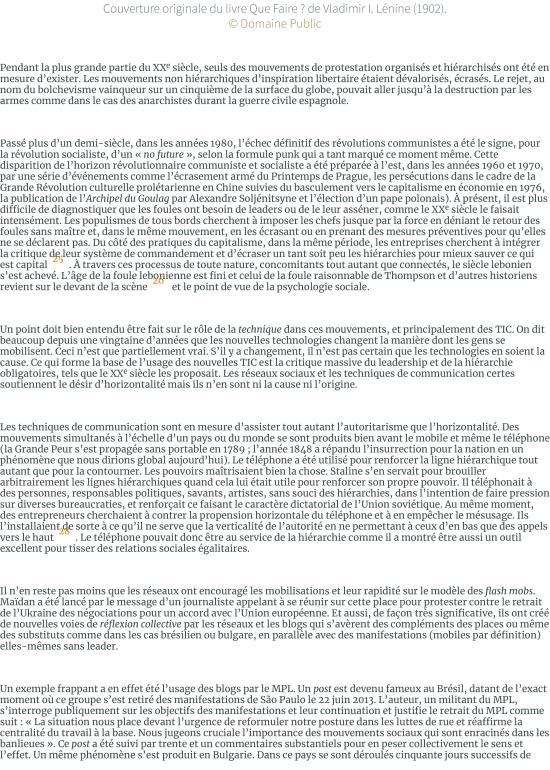 Les foules raisonnables. Notes sur les mouvements sans parti ni leader des années 2010 et leur rappo-page-007