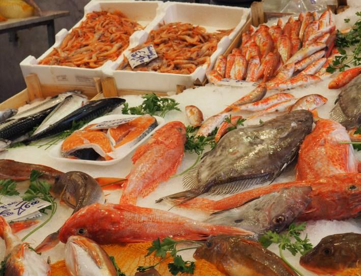 Fish at Capo Market, Palermo